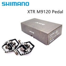 Shimano Xtr M9100 PD-M9120 Pedaal Zelfsluitende Ras Mountainbike Spd Clipless Race Pedalen Set & Schoenplaten M9100 M9120