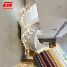 Светодиодная Подвесная лампа ZDD0025, длинная трубчатая декоративная цилиндрическая лампа для кухни, столовой, магазина, бара, Кухонный Светильник