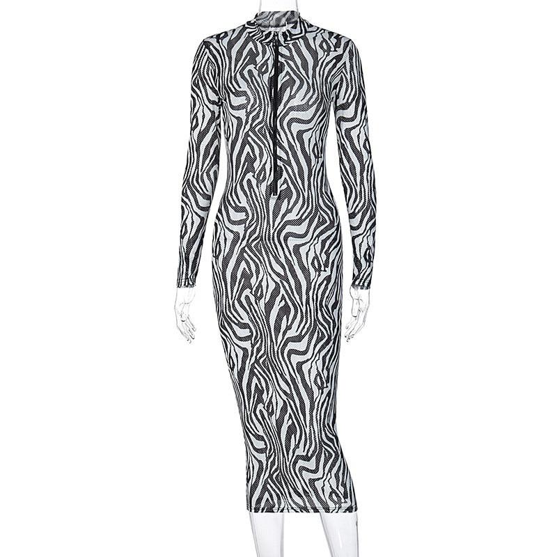 print midi dress13