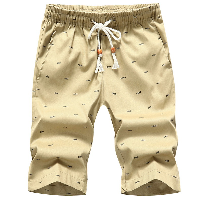 Drop Shipping 2020 Summer Solid Casual Shorts Men Fashion Casual Cargo Shorts Plus Size 4XL Beach Shorts M-4XL