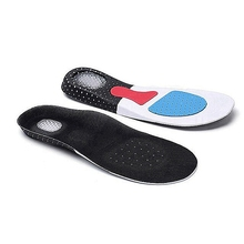 Silicone Insoles Sport-Shoes Pads Arch-Support Shock-Absorption Comfortable Thickening