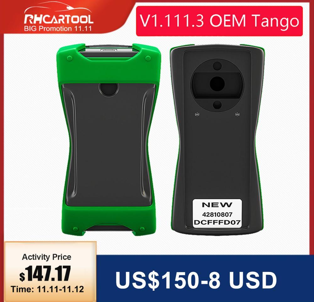 OBD2 TANGO OEM Orange 5 OBD II Key Programmer Full Version V1 111 3 Auto Key Transponder Tango OBDII Remote Control Copy Scanner