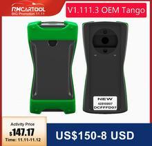 OBD2 TANGO OEM Orange 5 OBD II programador de llaves versión completa v1.11,3 transpondedor automóvil llave Tango OBDII escáner de copia de Control remoto