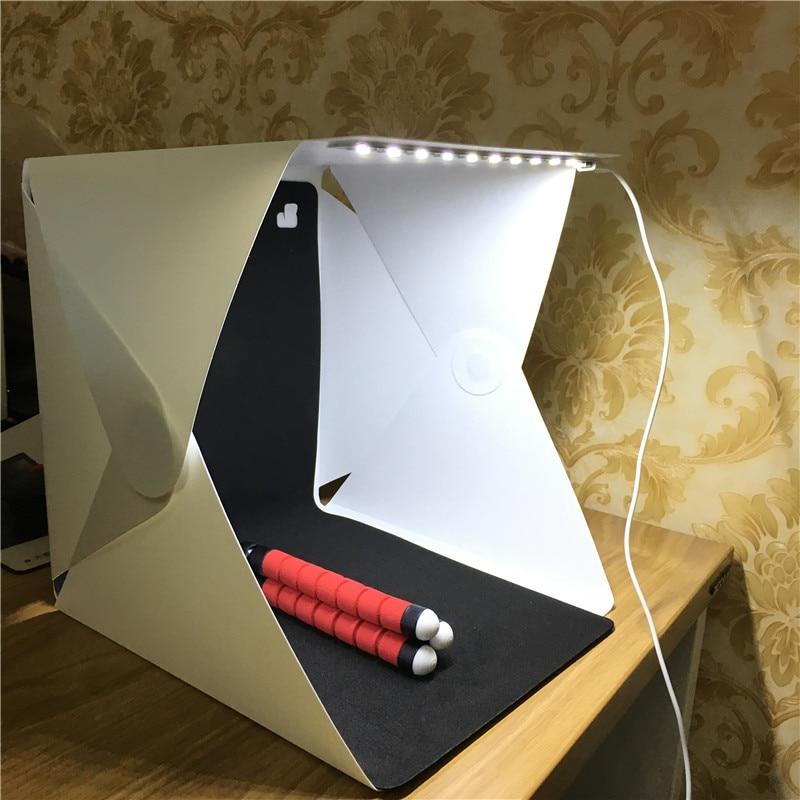 2 caja de luz plegable de fondo 24*24 caja de luz de brillo ajustable para cámara DSLR Envío Gratis: grande 200*250 Cm/79 * 99in negro 3D DIY Árbol de la foto PVC calcomanías de pared/adhesivos de la familia Mural arte decoración del hogar