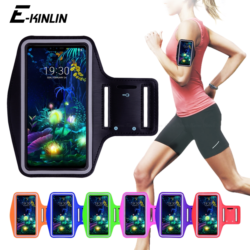 Running Jogging Sports Cover Arm Band Phone <font><b>Case</b></font> For <font><b>LG</b></font> Q9 one Q8 Q7 Q6 Q60 G8X G8S G8 G7 G6 G5 Plus V50 V50S V40 V35 <font><b>V30</b></font> ThinQ image