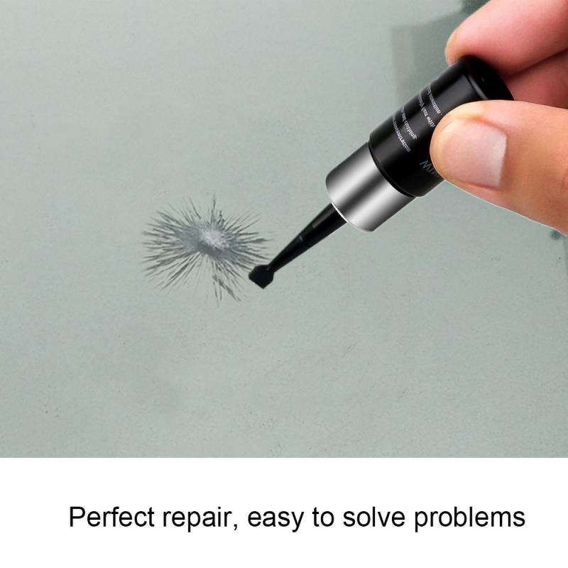 5Pcs/Set Car Windshield Blade Fluid Glass Repair Car Glass Nano Repair DIY Liquid Scratch Crack Restore Window Repair Tool TSLM1