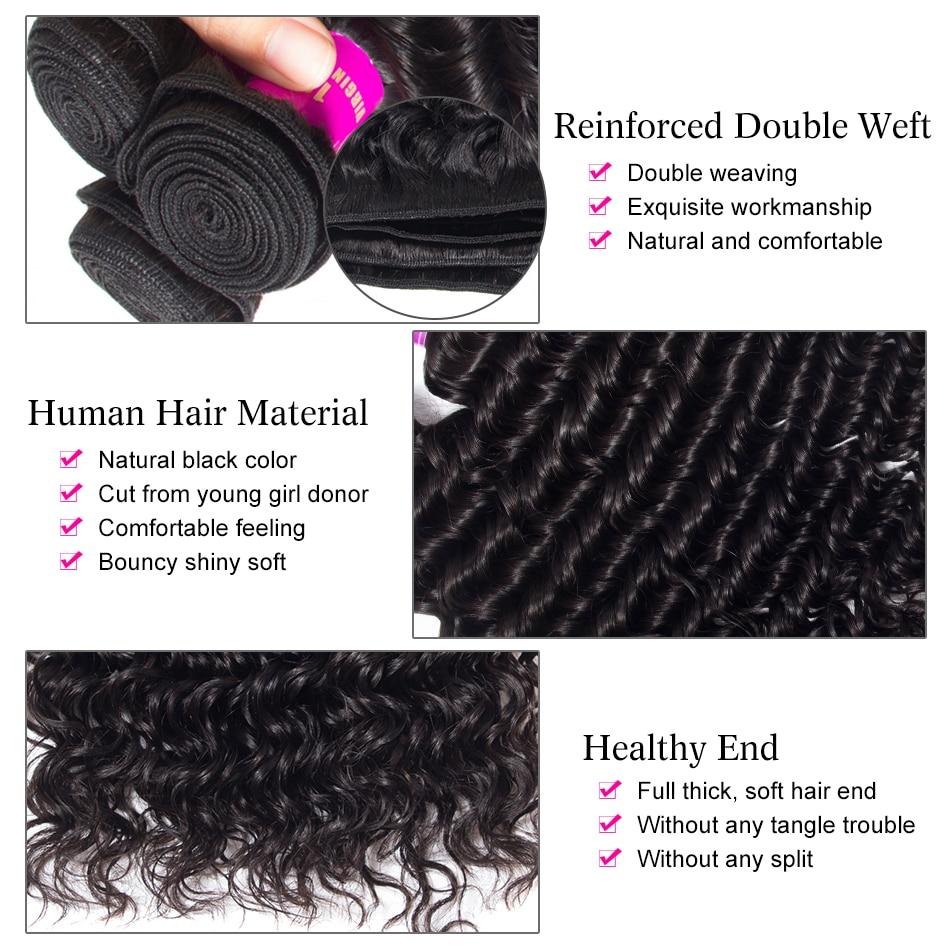 Hce75334e444948e1ba4d70e1f26bf171a Tinashe Deep Wave Bundles With Closure 5x5 6x6 Lace Closure And Bundles Remy Brazilian Human Hair Weave 3 Bundles With Closure
