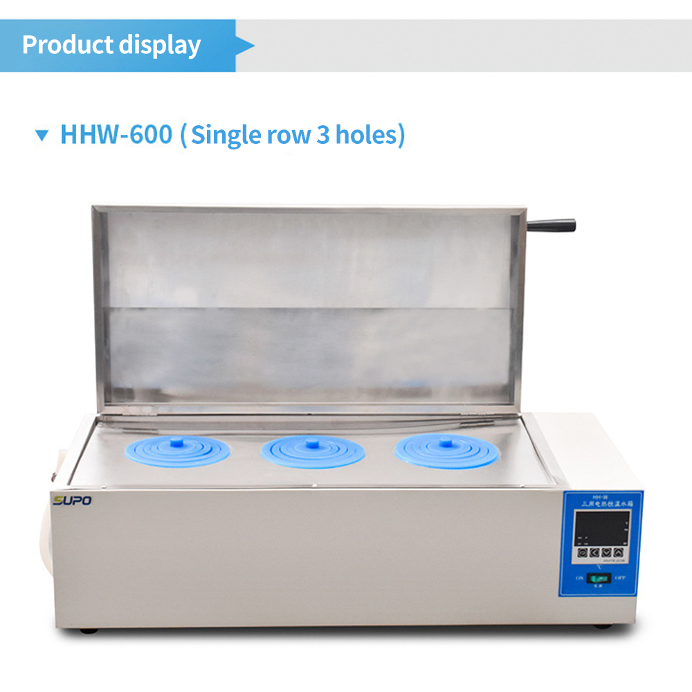 Digital display electric heating constant three water tanks Constant temperature water bath high precision temperatu control - 5
