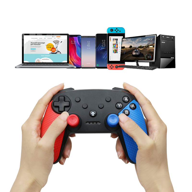 Wireless Game Controller Joystick For Nintend Switch Console Bluetooth Gamepad Pro Joypad For Android/ PC Accessories Controle