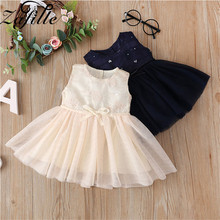 baby girl dress summer children clothing 2017 baby girl clothes cute newborn baby clothes roupas bebe infant kids dresses ZAFILLE Summer Sleeveless Baby Girl Dress Newborn Infant Baby Girl Clothes Party Birthday Dresses Baby Clothes Girls Clothing