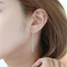 Everoyal Trendy Lady Earrings Silver Jewelry For Women Fashion Women 925 Sterling Silver Earring Girls Birthday Accessories Hot стоимость