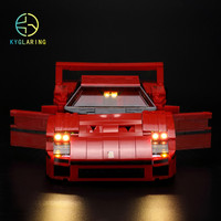 LED light up kit (only light included)  for  technic 10248 and  21004 Creator series F40 car