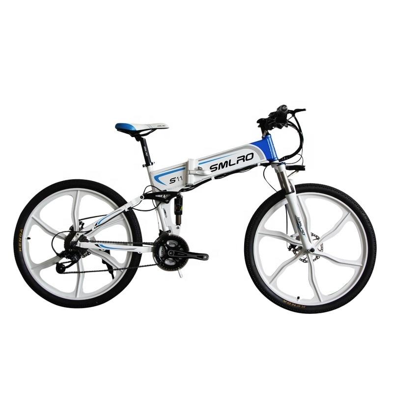 "S11YTL Steadfast e bike26"" Folding Electric Bicycle 48V 10AH 350W  E MTB Foldable ELectric Bike 1"