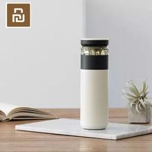 Original Youpin Spaß Hause Tragbare Wasser Vakuum Tasse 520ml Outdoor Reise Tee wasser trennung Flasche Warme 3 in 1 büro Flasche