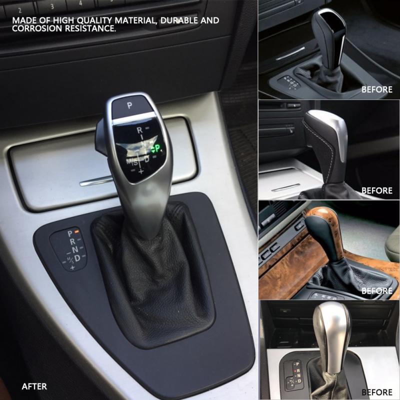Für BMW Auto änderung LHD Automatische LED Schaltknauf Shifter Hebel für BMW E46 E60 E61 Schaltknauf kopf - 5