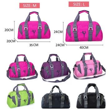 Yoga Mat Bag Fitness Gym Bags Sports Nylon Training Shoulder Sac De Sport For Women Men Traveling Duffel Gymtas 2019 Men XA55WA 6