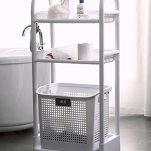 600 Dirty laundry basket laundry basket dirty clothes storage basket household bathroom shower finishing storage basket wheel