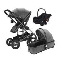 Infant Baby Stroller Buggy Car Seat Stroller 3 in 1 Bassinet Cradle Type Baby Carriage Basket Travel Newborn Stroller
