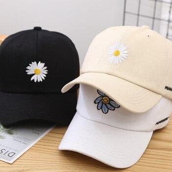 New Kpop Baseball Cap Unisex GD Korean Baseball Cap G-Dragon Embroidered Baseball Cap Adjustable Chrysanthemum Cotton Hat фото