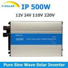 EPever IPower 500W falownik solarny 12V24V wejście 110V 220V wyjście z sieci czysta fala sinusoidalna falownik 50HZ 60HZ inwerter słoneczny