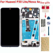 For HUAWEI P30 Lite LCD Touch Screen Digitizer Panel Sensor For HUAWEI P30 Lite LCD Display Assembly Nova 4e MAR-LX1 LX2 AL01(China)