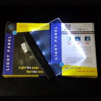 Creative Fashion LED Night Light Book Portable Reading Lamp Novelty Wireless Eye Protection Battery lampara para leer