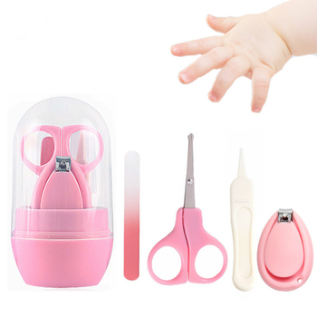 Kit de cortauñas para bebés, cortauñas, 4 Uds.
