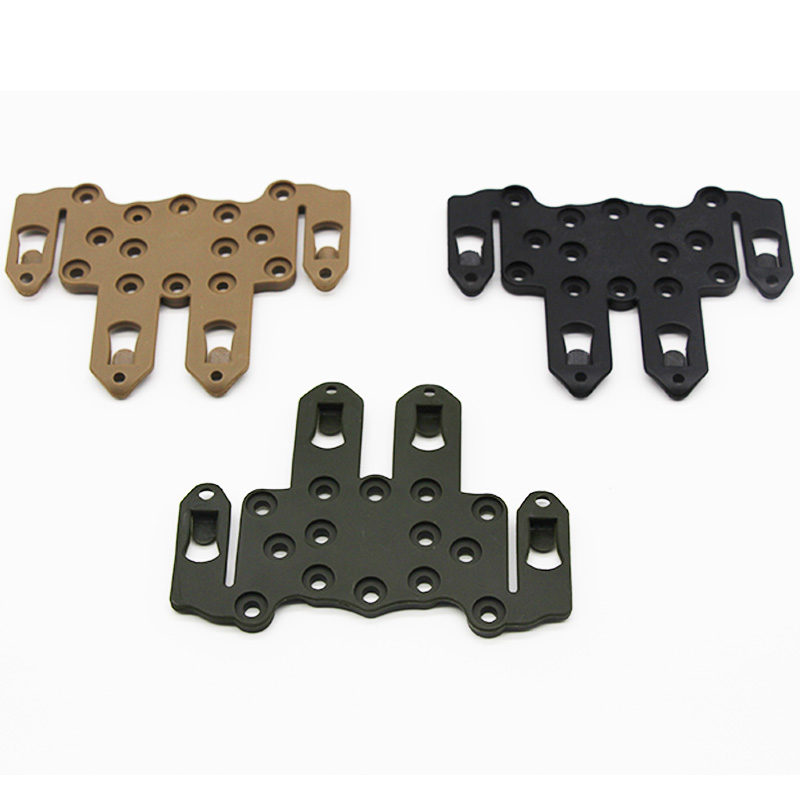 Molle Speed Clip Platform Holster Rail Case Mount Hunting Adapter Accessories