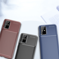 case samsung galaxy For Samsung Galaxy S11 Case Business Style Silicone Shell Coque Back Phone Cover For Galaxy S11 Protective Case For Samsung S11 (1)