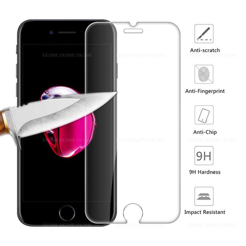 واقية المضادة للصدمة واقي الشاشة لفون 6 6s 7 8 زائد 4 4s XR XsMAX حماية الشاشة ل فون 5 5S SE X XS ماكس