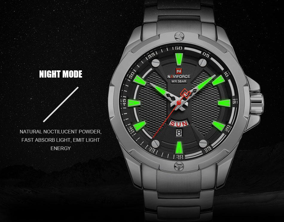 Hce77d07c4c244b5887ab32b60dda3cbab Men's Watches Top Luxury Brand NAVIFORCE Analog Watch Men Stainless Steel Waterproof Quartz Wristwatch Date Relogio Masculino
