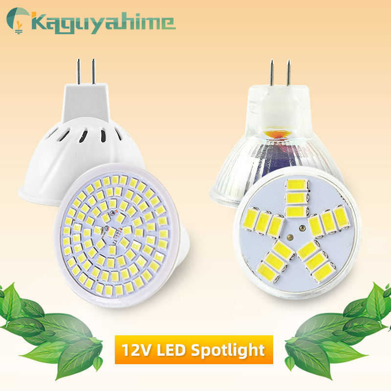 Kaguyahime LED MR16 12V MR11 Spot Light 220V 6W SMD 2835 Bulb LED Lampada Spotlight Decoration Ampoule Warm White Cold White