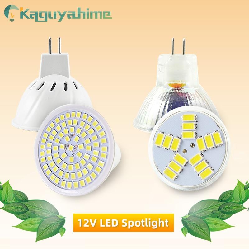 Kaguyahime LED MR16 12V MR11 Spot Light 220V 6W SMD 2835 Bulb LED Lampada Spotlight Decoration Ampoule Warm White Cold White