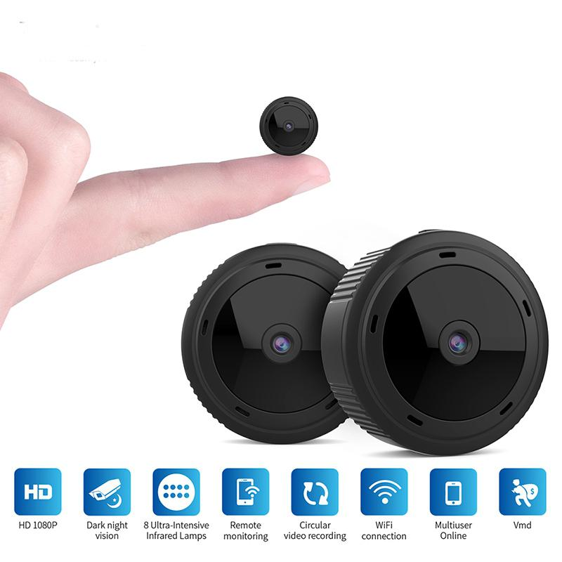 Home Security MINI IP Camera WIFI 1080P Wireless Small CCTV Infrared Night Vision Motion Detection For SD Card Audio APP image