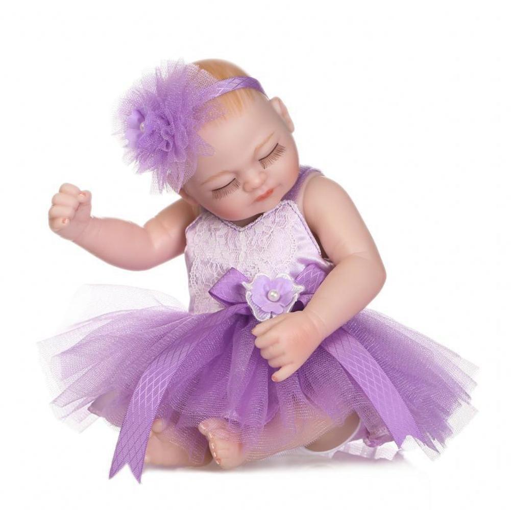 26CM Realistische Puppe Beine Arme Beweglichen Simulieren Gewichteten Baby Kleinkinder Bad Spielzeug Geschenk