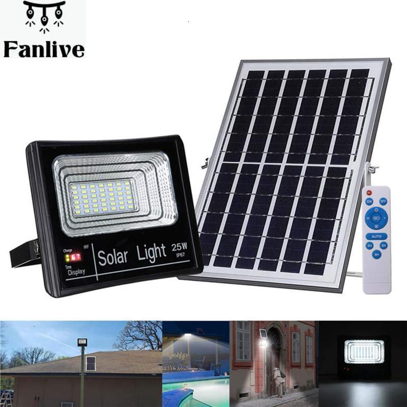 8pcs LED Floodlight Solar Lamp Light Waterproof IP67 Outdoor Lighting Emergency Security Garden Street Light Garden Lamp