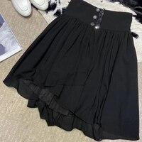 Women Skirts Summer A Line Mini Skirts 2020 New Style Black Short Skirt For Ladies