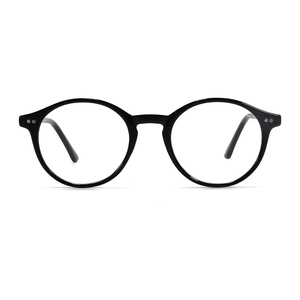 Image 2 - TANGOWO TR90 Glasses Frame Women Retro Round Prescription Eyeglasses 2020 Design Fashion Men Black Optical Myopia Eyewear CP1007