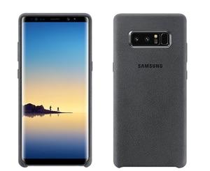 Image 4 - SAMSUNG оригинальный прочный армированный чехол для телефона официальный Alcantara чехол для телефона Samsung Galaxy Note 8 N9500 Note8 SM N950F мобильный телефон чехол