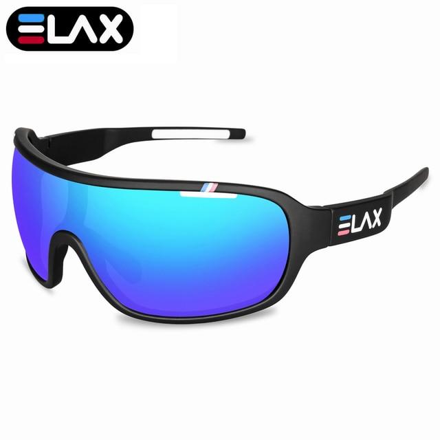 Elax marca 2019 novo esporte ciclismo óculos de sol das mulheres dos homens ao ar livre ciclismo mtb bicicleta óculos uv400 1