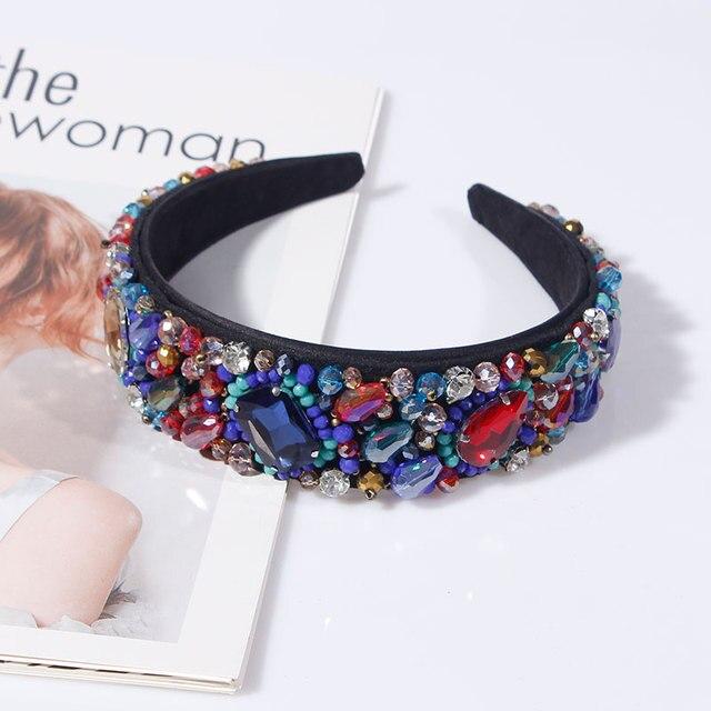Colorful Crystal Rhinestone Headbands  3