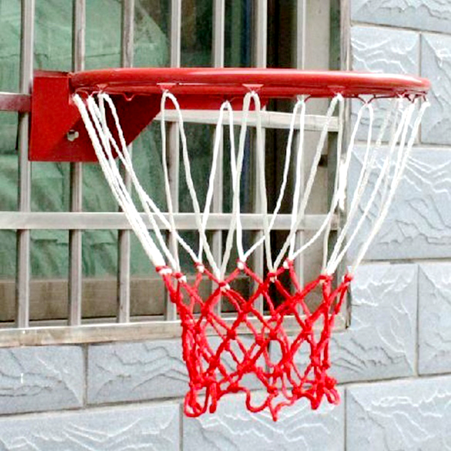 2Pcs Basketball Rim Mesh Net Diam.5mm Basketball Net 12 Loops Basketball Net Mesh For Basketball Ring