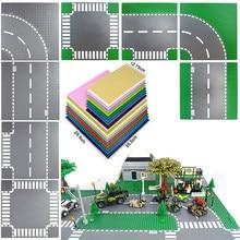 Yeni klasik şehir yol yeşil sokak taban plakası taban plakası 32*32 32*16 montaj tuğla levha uyumlu tüm markalar yapı taşları