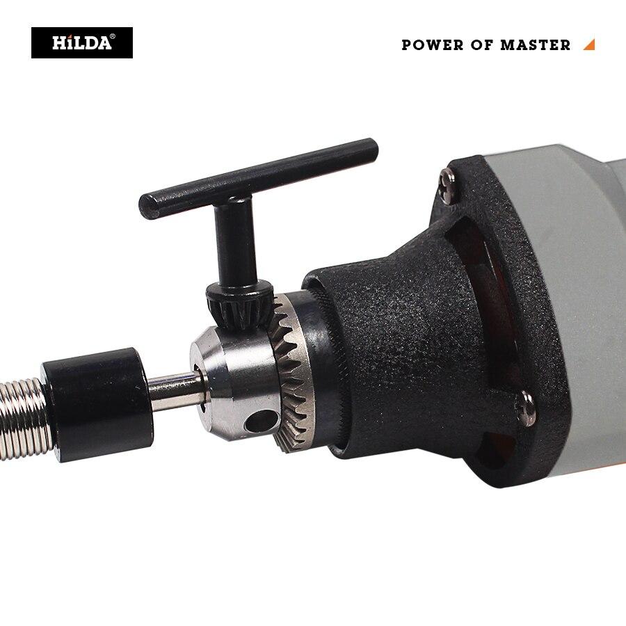 Tools : HILDA Rotary Tools Electric Drill Mini Grinder Mini Grinder Cutting Polishing Drilling with dremel Accessories
