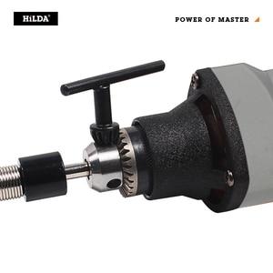 Image 5 - Hildaミニ電気ドリル 6 位置可変速度dremel 220v 400 ワットスタイルロータリーツールミニ研削電源ツール