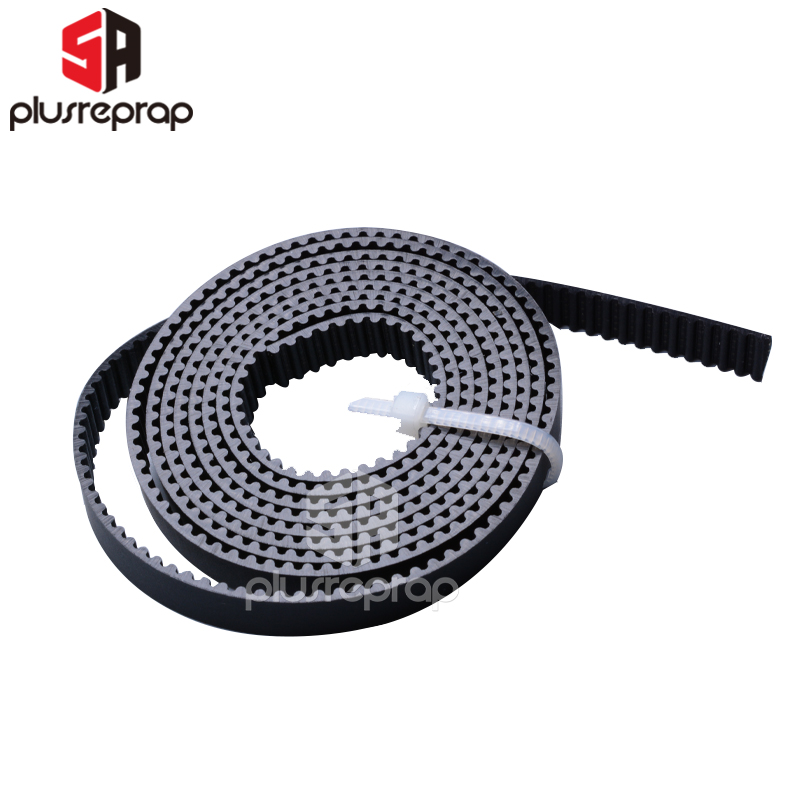 2GT Timing belt Width 6mm Synchronous Belt <font><b>1</b></font> <font><b>5</b></font> <font><b>10</b></font> meters Containing Aramid Core Wear-resistant for 3D Printer Parts image