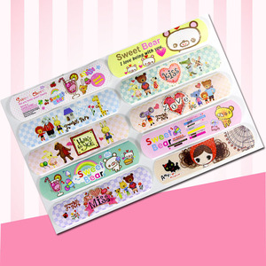 Image 3 - 120PCs Waterproof Breathable Cute Cartoon Band Aid Hemostasis Adhesive Bandages First Aid Emergency Kit For Kids Children