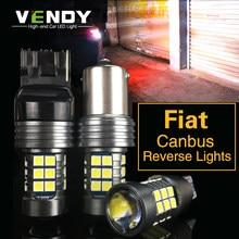 1 шт. светодиодный автомобильный фонарь заднего хода, лампа W16W T15 W21W P21W BA15S для Fiat freeont 500 500L 500X albea ducato linea idea palio panda uno