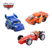 Disney Pixar Cars 3 Cars Lightning McQueen Flames DJ Rotz Mother Jackson Storm 1:55 Diecast Metal Alloy Toy Car Model Kids Gift