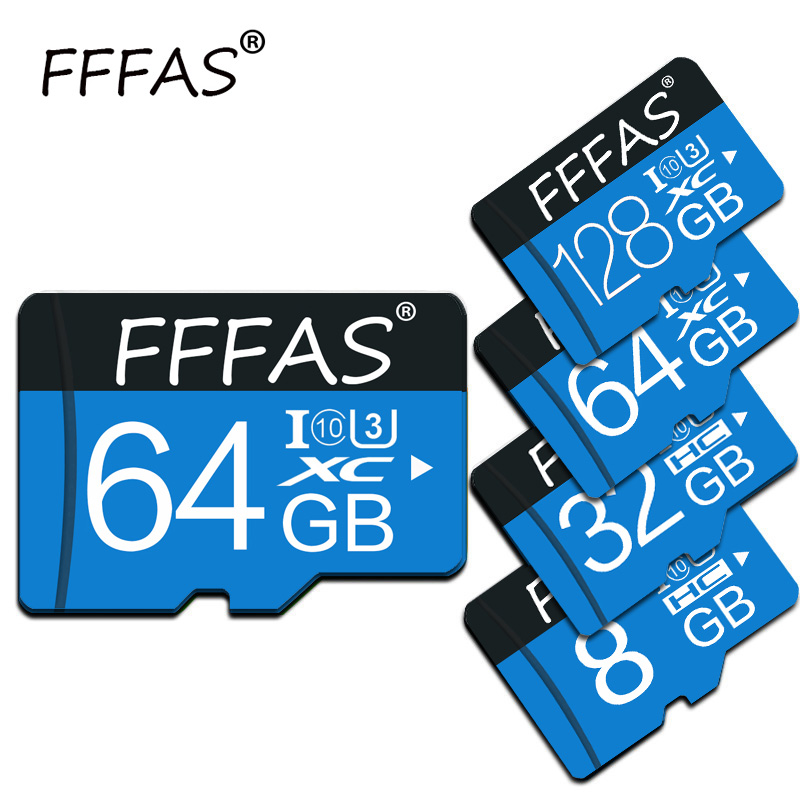 High Speed Class 10 Tarjeta Micro Sd 32gb 64gb 128gb Micro Sd Card Real Capacity Mini TF Cards 16gb 8gb 4gb Flash Memory Cards